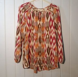 Womens chicos boho blouse. Size 1
